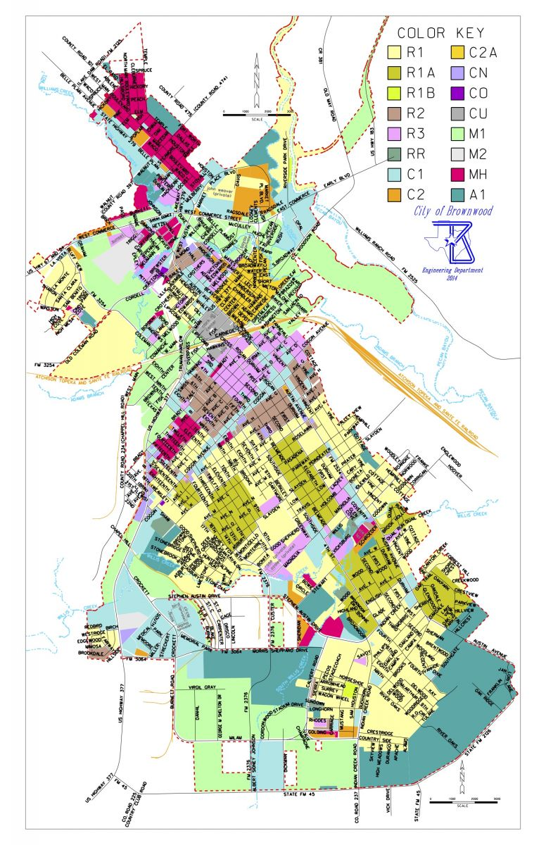 Fort Worth Texas Zoning Map